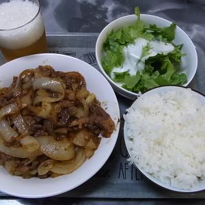 十和田バラ焼作りました!(タマネギがいい味出しています。)