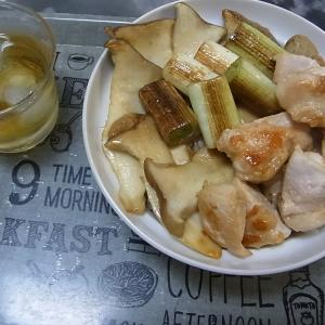 焼き鳥丼作りました!(豚丼のタレで焼き鳥丼だよ)