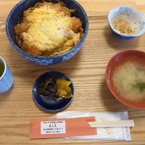 カツ丼食べて元気出しましょう!味の店 かくた(茨城県水戸市)
