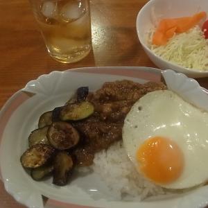 夏野菜のキーマカレー(不要不急の外出を控えてお家カレーです!)