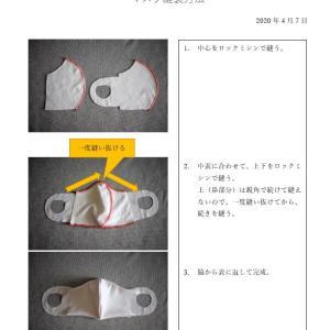 マスクのパターン&レシピ