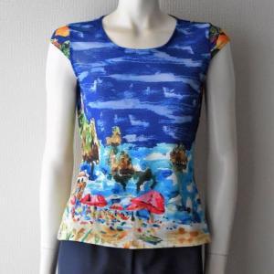 【課題試作】A2.短キャップ袖Tシャツ
