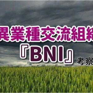 【怪しい異業種交流組織】「BNI」はコスパが良くない…概要と実例紹介。