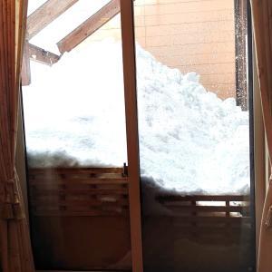 積雪が1mこえました。車に備える5つ