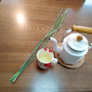 マコモ茶飲んでみた🍵