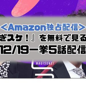 1年9か月ぶりぷっすまコンビ|『なぎスケ!』をAmazonプライムビデオで無料で見る方法【ネット配信・見逃し配信】
