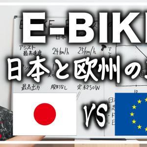 【日本のE-BIKEはものたりない!?】日本と欧州の規制を比較