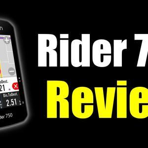Rider750はコスパ最強マップ付きサイコンなのか【レビュー】