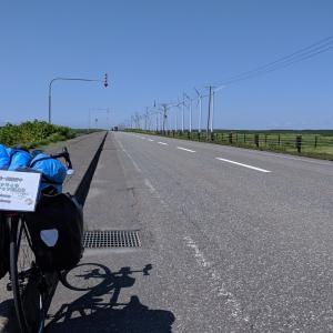 【LIVE旅行記】自転車で北海道一周4日目 羽幌〜稚内 憧れの!?オロロンライン