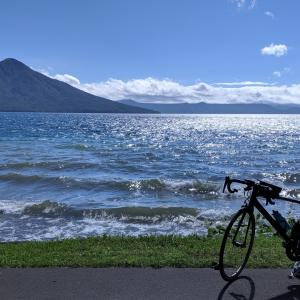 【LIVE旅行記】自転車で北海道一周18日目 苫小牧〜支笏湖往復 台風は早々に去りぬ