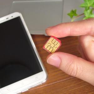 現在の電話だけ最安SIMは?
