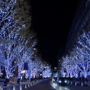 六本木けやき坂イルミネーション (12月'19)