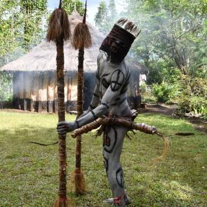 パプアニューギニア旅行<3>2日目 モコモコダンス→ゴロカ (1月5日'20)