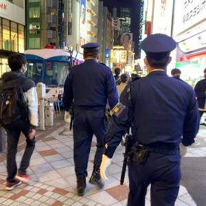 ハロウィーン前の渋谷 (10月29日&30日'20)