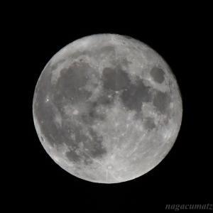 中秋の名月&満月 (9月21日'21)