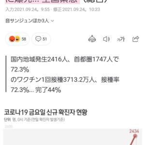 韓国・新規感染者が過去最大に(;ω;)。日本は急激に収束したのに、韓国はどうして?!