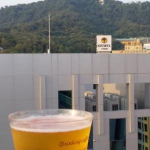 ソウルのホテルで一人飲み♪お供に艶々プリッ!な、うずらのタマゴ!