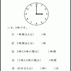 第125回🍃 お金と時計の文章題⑦ 時計の応用「 ~後・~前」編