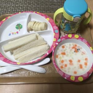 離乳食完了期☆朝ごはん&昼ごはん