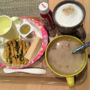 1歳完了食&夜ご飯 オマール海老のスープパスタ