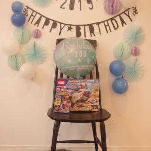 長男4歳のお祝いをしました。
