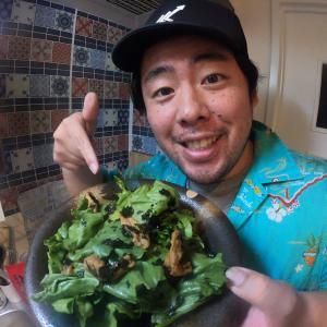 【動画公開(Youtube)】「韓国風パリパリサラダ作ってみたら別人になった」
