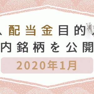 2020年最新 配当金目的で保有している国内銘柄を公開!主婦でもできる配当金ブログ