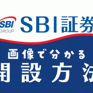 【SBI証券の開設方法】を画像付きで超分かりやすく解説