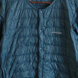 夏の高山でも使えるモンベルの「スペリオダウン ラウンドネックジャケット」はコスパ抜群!