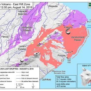 2018年のハワイ島噴火でできた一番新しい溶岩を見てきた~2019.4<前編>