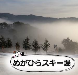 【めがひらスキー場】レディースデイ500円で滑り放題★ポータブル電源でホットサンド【車中飯】