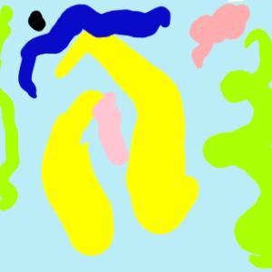 もうすぐ4歳の子どもでもアイビスペイント Xで絵を描くことができる