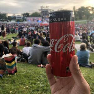 ニュージーランドのクリスマス前の大イベント!コカ・コーラコンサート!これ無料なんです(´∀`)