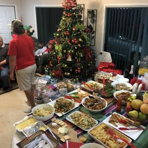 ニュージーランドのクリスマス!ホームステイ先のパーティに招待してもらいました(*゚▽゚)ノ