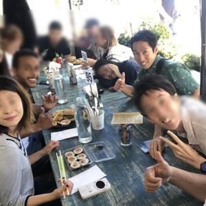サマーホリデー終了!語学学校再開・・・休みの日に皆んなでワイヘケ島へ!!