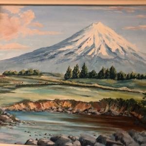 日本の富士山…に似た山がニュージーランドに?!
