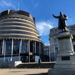ニュージーランドの首都・・・ウェリントン!!