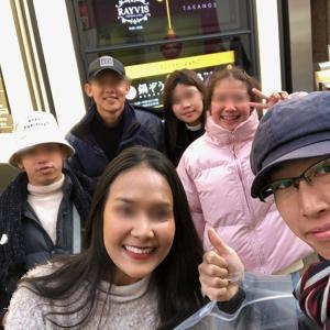 語学学校で出会った友達が日本に!?