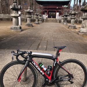 冬の鹿野山は寒い!!ロードバイク乗りの冬!!