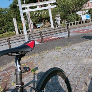 『夏』がやってきた!ロードバイクで出かけるには『猛暑』が最高(°▽°)??