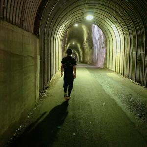 【養老渓谷ハイキング】2つの出口が存在するトンネル??『共栄・向山トンネル』