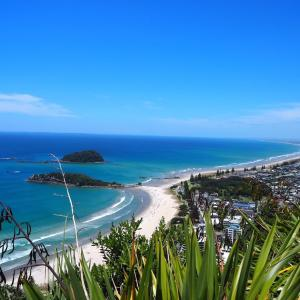 Trekking at Mt. Maunganui in Tauranga, New Zealand !!