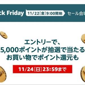 Amazonブラックフライデーでチェックしたいおすすめ商品3選!!