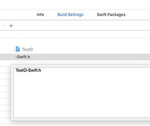 ObjectiveCプロジェクトでSwiftコードを使用するときに、○○-Swift.hが読み込めないというエラーが出た時の対処方法