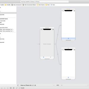 【Swift5】StoryboardでUITabBarのタイトル文字を設定する方法【Objective-C】
