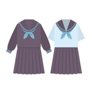 中学校の衣替え