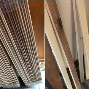 DIY :玄関廊下リノベ 半間押し入れリノベ中