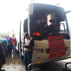 イラン(テヘラン)からアルメニア(エレバン)へのバスでの国境越えの解説!