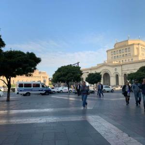 アルメニア行きのバスが来ない!まさかの足止め!