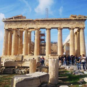【アテネ観光】古代ギリシャ文明を感じろ!